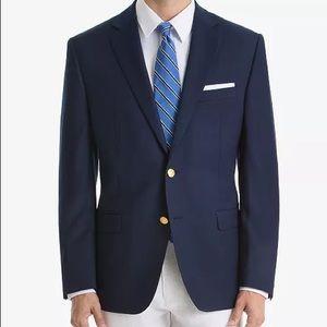 NWOT Men's Ralph Lauren 100% Wool Navy Blazer